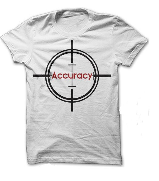 Accuracy Tee (White)
